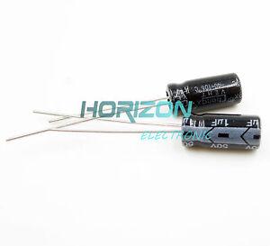 50PCS-Radial-Electrolytic-Capacitor-1UF-50V-5x11mm-NEW