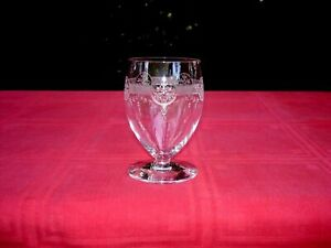 Saint Louis Ligier Pan 130 Water Wine Glass Verre A Eau Cristal GravÉ Art Deco