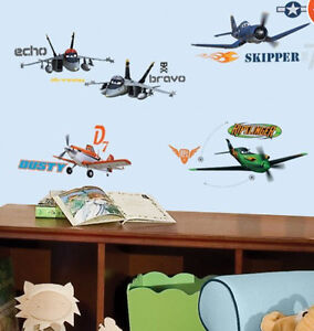 Image Is Loading DISNEY PLANES Wall Stickers 43 Decals Dusty Crophopper