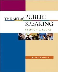 The-Art-of-Public-Speaking-9th-Edition-Paperback-Stephen-E-Lucas-McGraw-Hill