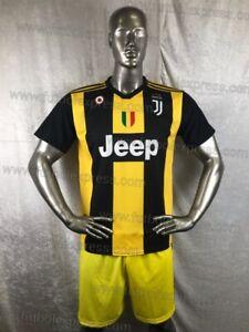 Unique Juventus Yellow Black 15 Soccer Uniforms Uniformes De Futbol Ebay
