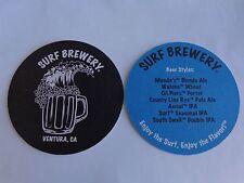 Beer Breweriana Coaster ~*~ SURF Brewery Mondo's Blonde Ale; Ventura, CALIFORNIA