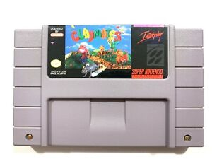 Claymates - Super Nintendo SNES Game - Tested - Working - Authentic!