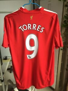 08-09-10-Liverpool-home-classic-reproduction-8-Gerrard-9-Torres-flocking-printed