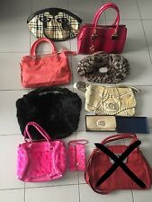 Lot de Sacs à Main et Porte monnaie Femme Marque Guess Lollipops Cuir Bag Women