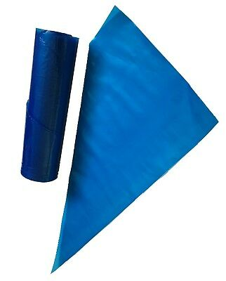 """100 Strong 21/"""" Piping Bags Blue Professional Disposable.Icing//Mash//Savoy//Cupcake"""