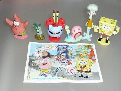 spongebob figuren namen