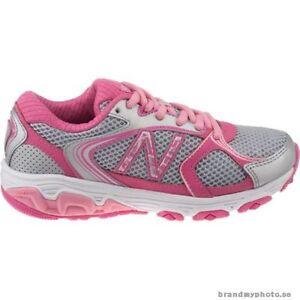 66461e47e5e52 Children's Wide NEW BALANCE Running Shoes GREY / PINK kj635kmy | eBay