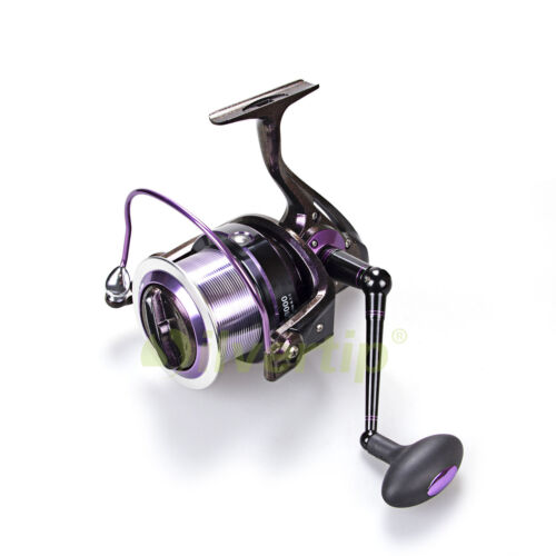 13+1 BB Big Game Spinning Fishing Reel AF 8000 Chameleon Paint Metal Saltwater