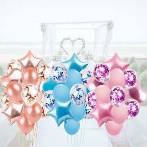Wedding-Birthday-Balloons-Latex-Foil-Ballons-Kids-Boy-Girl-Baby-Party-14pcs-set
