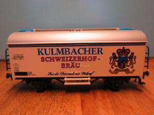 "(h01 P2) Märklin Spécial Camion ""kulmbacher Schweizerhof Bräu"" Top Neuf Neuf Dans Sa Boîte-afficher Le Titre D'origine Haute Qualité"