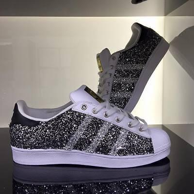 Scarpe Adidas Personalizzate SUPERSTAR PELOSA ROSA