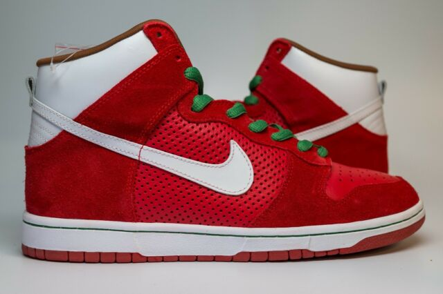 69841458813 Nike Dunk High Pro SB Sport Red white Big Gulp 2008 305050-611 Men s ...