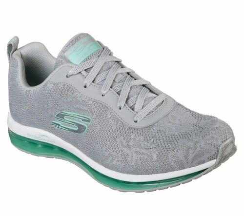 NEU SKECHERS Damen Sneakers SKECH-AIR ELEMENT Freizeitschuhe Sportschuhe Grau