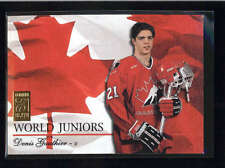 DENIS GAUTHIER 1995/96 95/96 DONRUSS ELITE #5 WORLD JUNIORS #0247/1000 AB9109