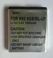 AC-POWER 1500mAh 3,6V Li-ion Akku für NOKIA N95 8GB/BL-6F N78 N79
