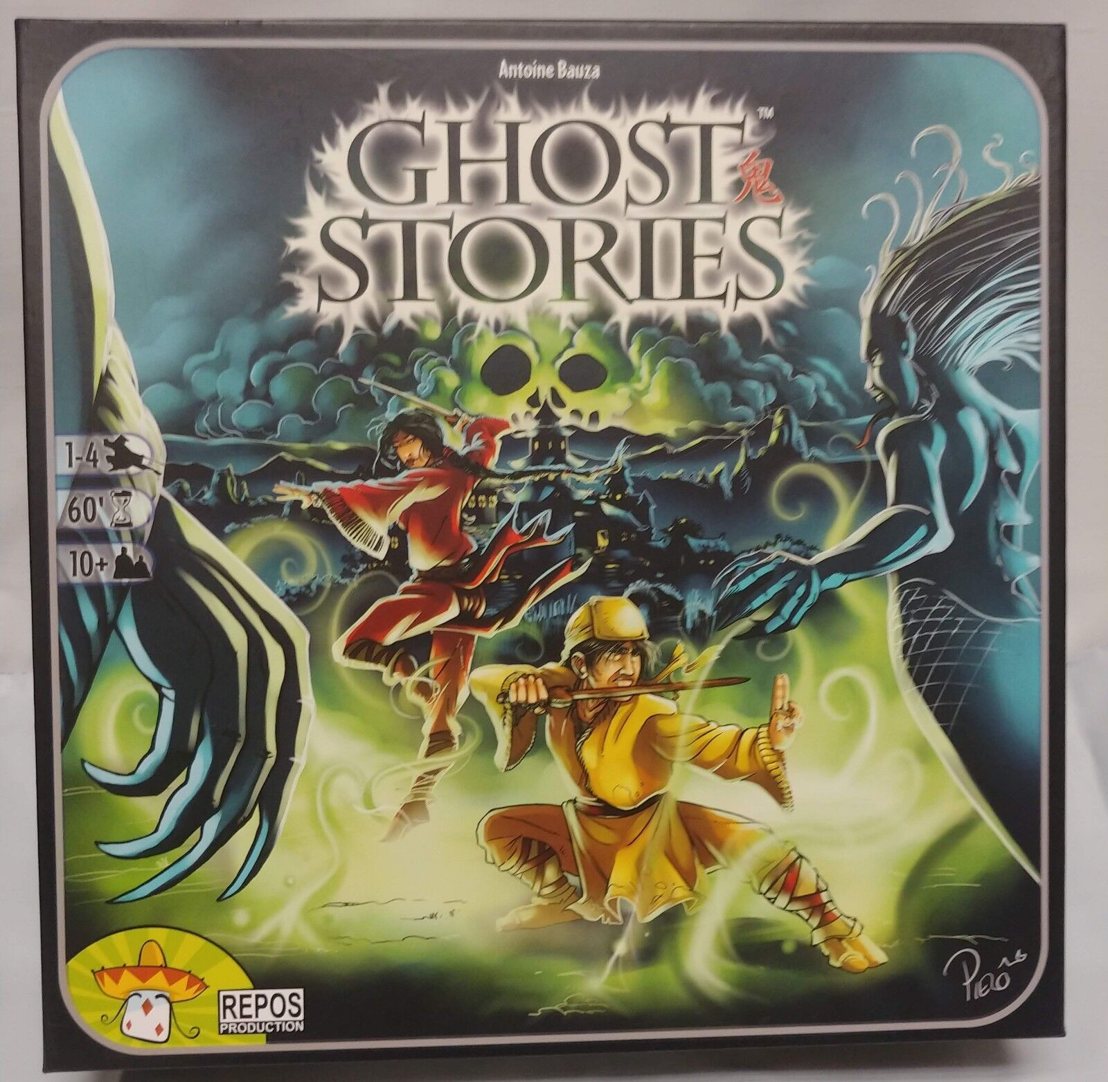 Ghost Stories Board Game Antoine Bauza 1-4 players Dice Board Game