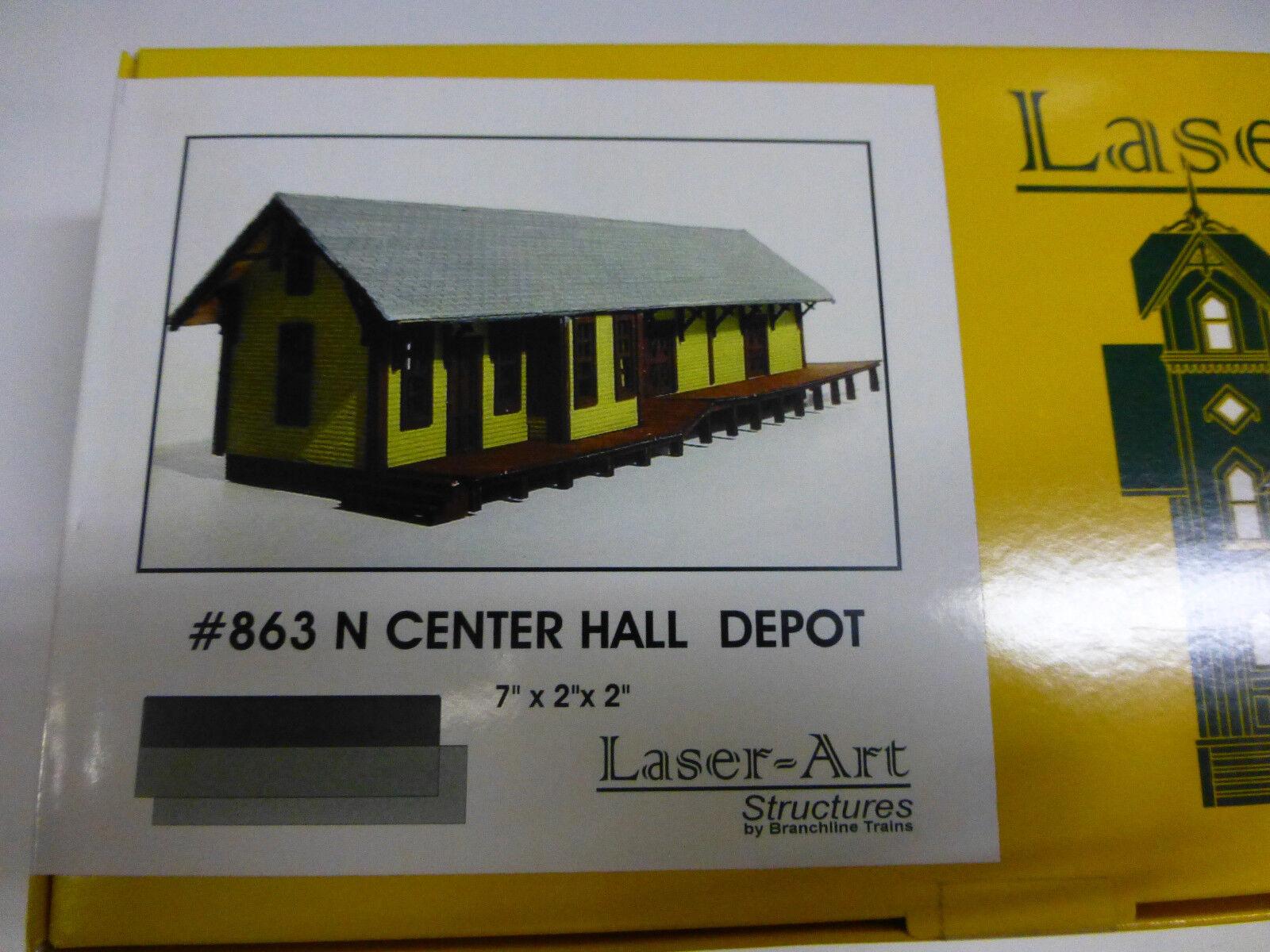 Branchline N laser Art Structures  863 Centre Ha