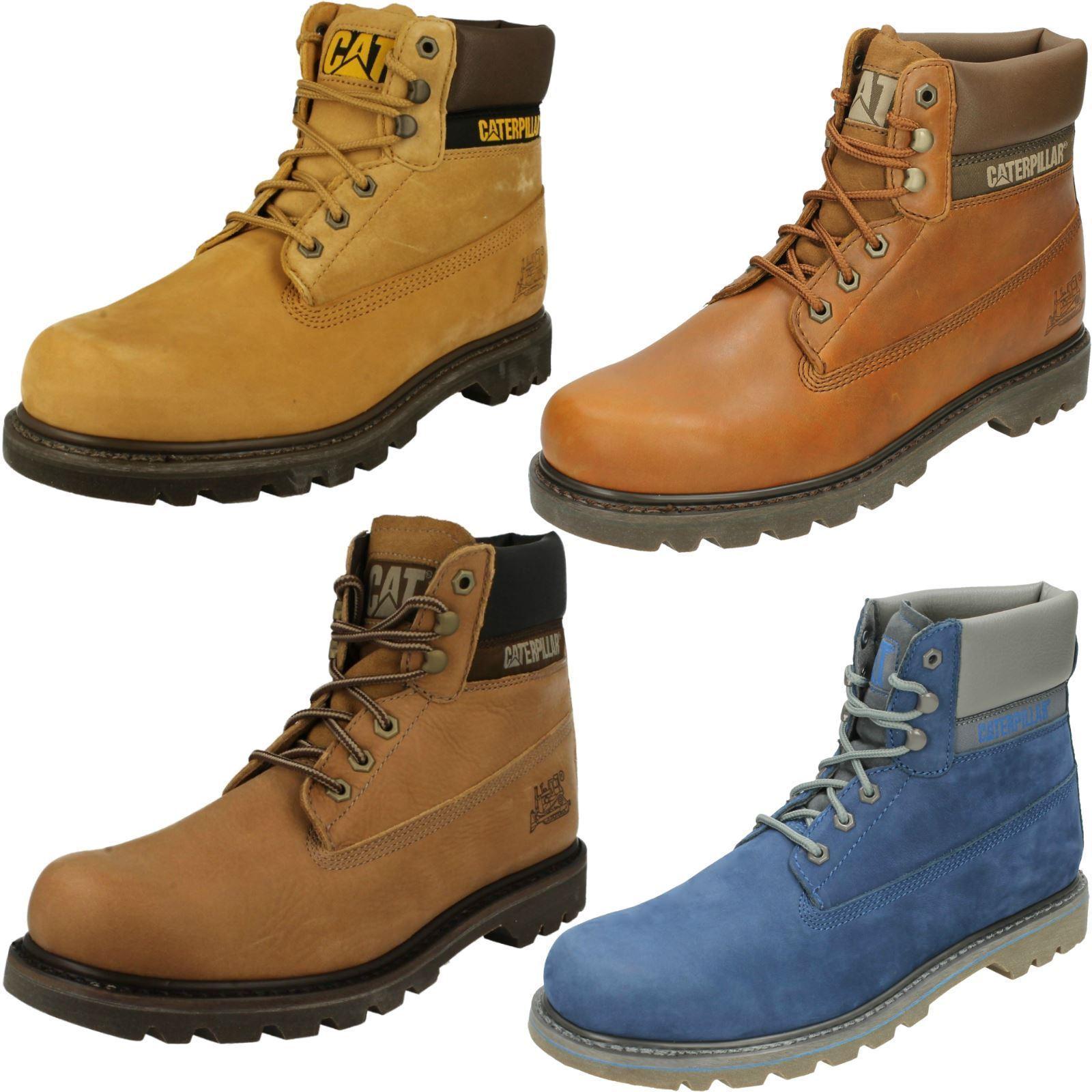 Zapatos de mujer baratos zapatos de mujer Caterpillar Para Hombre Cuero Casual Combate Zapatos Senderismo Caminar Botines