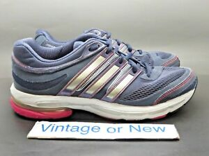 brand new bd9f4 13d4d Image is loading Women-039-s-Adidas-Adistar-Ride-4-Navy-