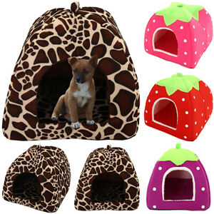 Cute-Soft-Pet-Dog-Cat-Bed-House-Kennel-Puppy-Kitten-Warm-Cushion-Basket-Pad-Mat