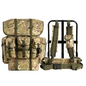 Military-Surplus-ALICE-Pack-Combat-Tactical-Army-Backpack-w-Frame-Multicam