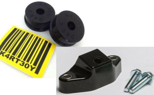 KARTBOY 02-12 WRX 5-Speed SHIFTER BUSHINGS COMBO KIT Forester Legacy Outback