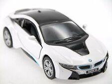Kinsmart BMW I8 (White) Plug-in Hybrid Sports car 1:36 Die Cast Collectable