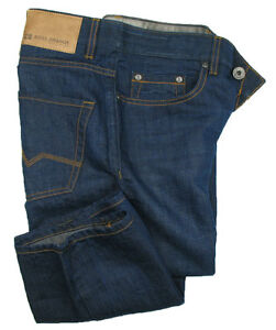 BOSS-Orange-25-Jeans-Issue-regular-fit-Navy-Blue-USATO-43-lino