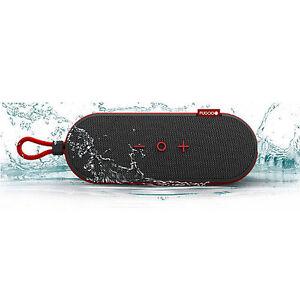 NEW Fugoo Go Portable Bluetooth Speaker Red Blue Mfg Sealed iPhone Smart Phone