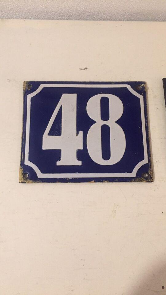 Skilte, Husnummer Husskilt