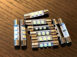 10-New-Cool-Blue-8V-Fuse-Lamp-LED-Light-Bulbs-for-Marantz-Sansui-Pioneer-Kenwood