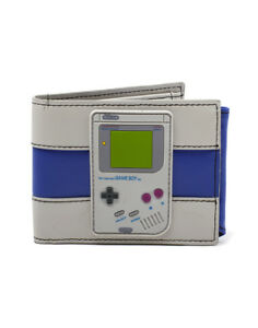 fd4169e021 OFFICIAL NINTENDO - GAME BOY RUBBER PATCH & COLOURS GREY BI-FOLD ...