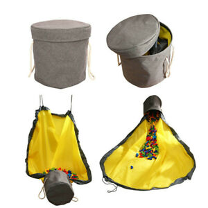 50-150cm-Protable-Toy-Storage-Bag-Tidy-Organizer-Waterproof-2-in-1-Kids-Play-Mat