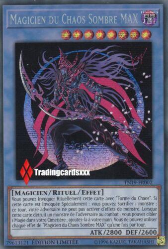 ♦Yu-Gi-Oh!♦ Magicien du Chaos Sombre MAX VF//Secret Rare TN19-FR002