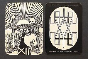 Vintage-The-New-Tarot-Cards-Deck-by-William-Hurley-amp-John-Horler-Vtg-1974