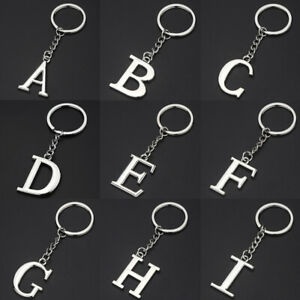 Letter-A-Z-Keychain-Metal-Key-Ring-Chain-Holder-Handbag-Pendant-Decor-Jewelry
