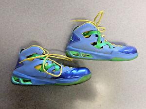 hot sale online d7afc 71ab9 Image is loading Nike-Air-Jordan-034-Melo-M9-034-blue-