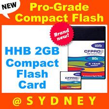 Brand NEW HHB  2GB 80x Pro-Grade Compact Flash Card | CompactFlash
