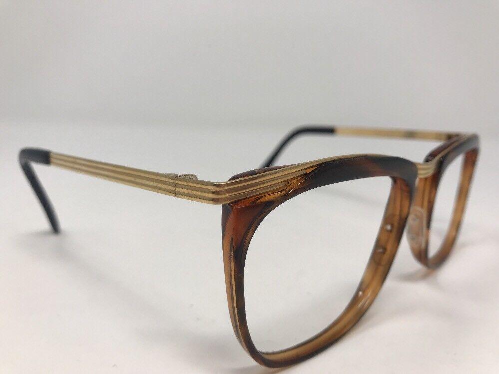 Ellen Tracy 60-15-120 Sunglasses D15 41-1 Gold Tortoise No Lens KF19