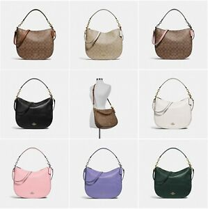 4d31aed5ca15 Image is loading New-Coach-Elle-Hobo-Shoulder-Bag-Crossbody-F39527-