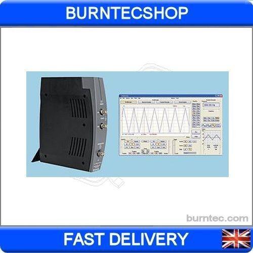 Velleman pcsgu250 Usb Pc Osciloscopio Generador De Funciones analizador de espectro