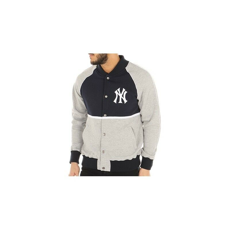 FELPA FELPA FELPA MAJESTIC 3777 LETTERMAN JACKET  NEW YORK YANKEES 855f7c