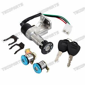 50cc scooter key switch wiring diagram key switch ignition lock for 50cc 150cc gy6 taotao sunl ...