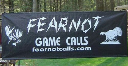 """Details about  /Glass /& Slate 2 Sided Call Friction Turkey Pot Call /""""NEW/"""" FearNot Game Calls"""