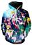 MenWomen-3D-Print-Anime-Sailor-Moon-Casual-Hoodie-Sweatshirt-Jacket-Pullover-Top miniature 27
