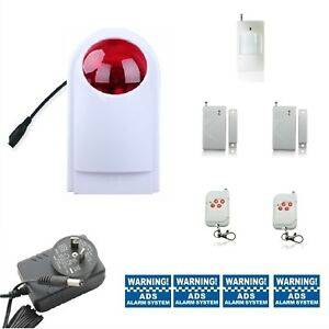 Wireless-standalone-tool-box-garage-shed-cubbyhouse-annexe-security-Alarm-System