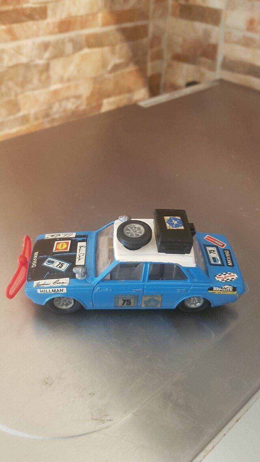 CORGI HILLMAN HUNTER RALLY CAR