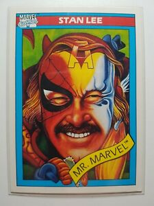 1990 - Stan Lee - Marvel Universe - Series 1 Trading card #161