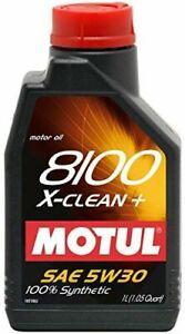 Motul 8100 X-clean+ 5W-30 Huile Moteur Synthétique - 5 L